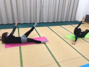 骨盤力体幹トレーニング